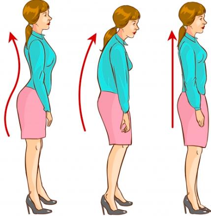 maintenir une bonne posture