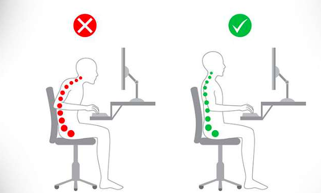 maintenir posture assise