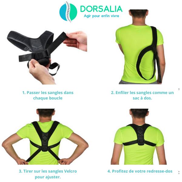comment utiliser redresse dos