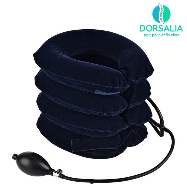 collier cervical gonflable Dorsalia